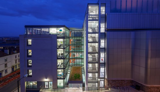 University of Bristol: Life Sciences Building