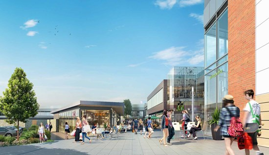 Extension of retail development  - Didcot, Oxfordshire