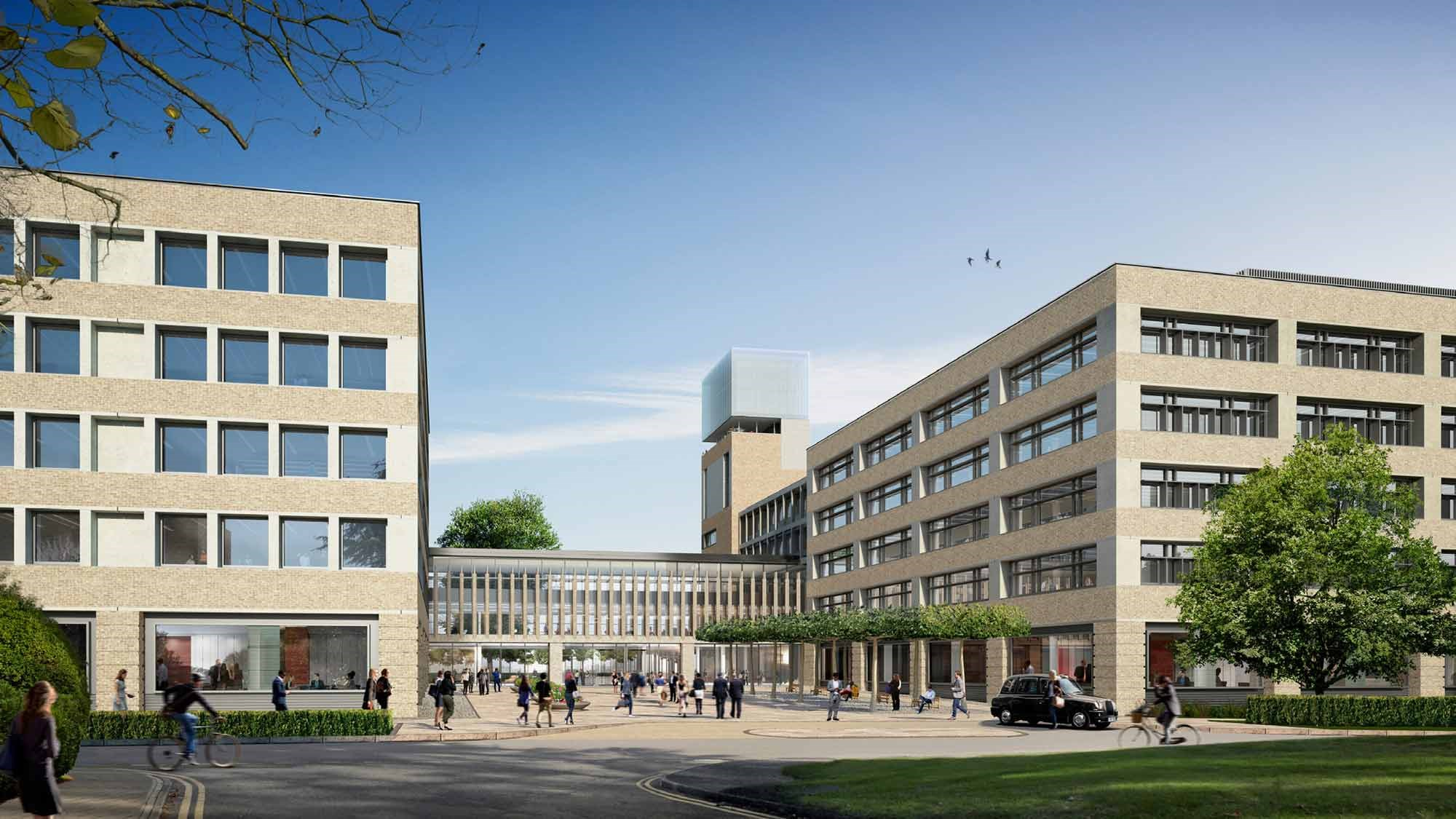 Redevelopment of new headquarters for Cambridge Assessments