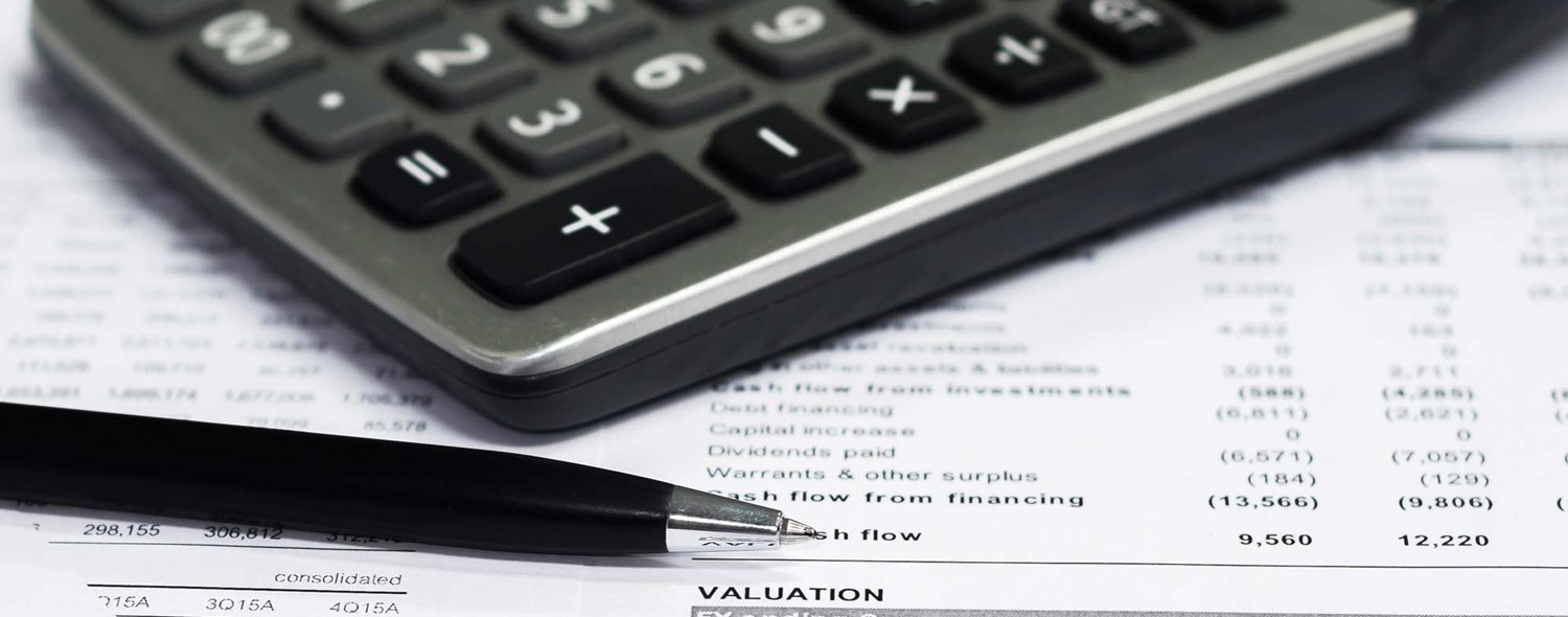 Valuations for inclusion in financial statements