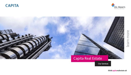 Capita Real Estate - Our Services