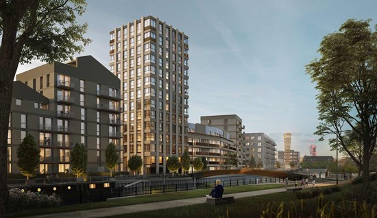Sugar House Island – Hybrid Planning Permission and ongoing advice for a new 10 ha neighbourhood in east London
