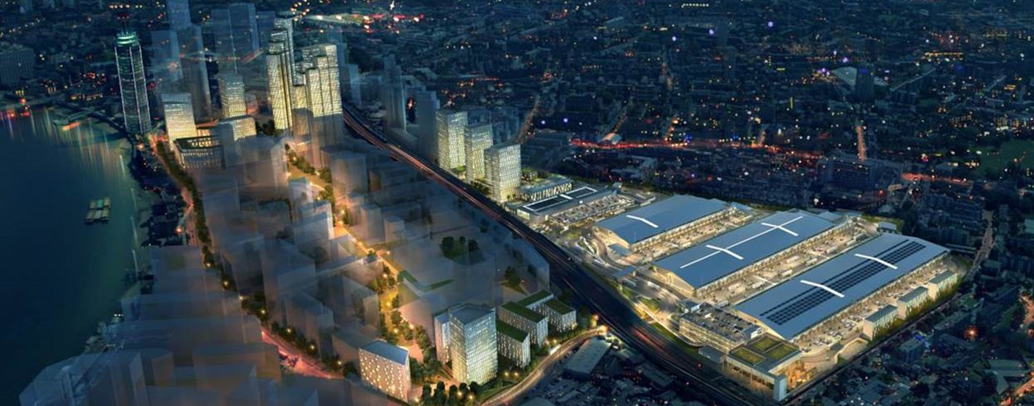 New Covent Garden Market, Vauxhall Nine Elms