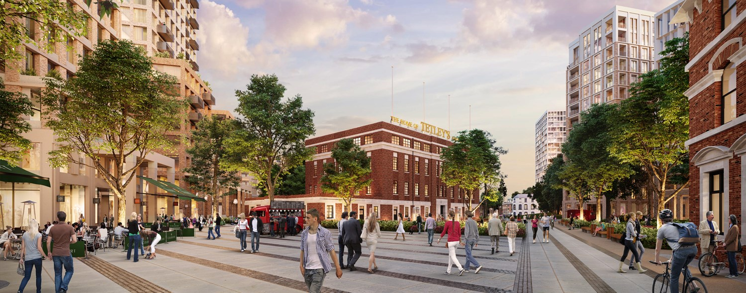 GL Hearn secures planning permission for the redevelopment of the former Tetley Brewery in Leeds