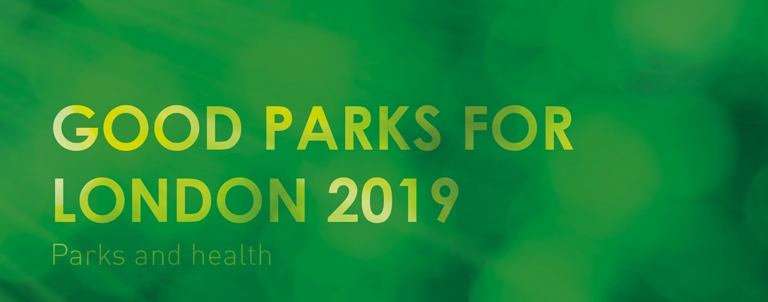 GL Hearn supports Good Parks for London for a third year running