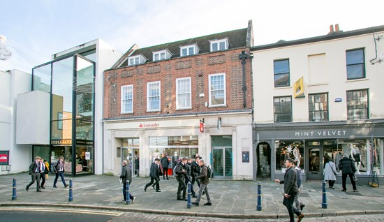 FOR SALE: 164-166 High Street, Guildford, Surrey, GU1 3HR