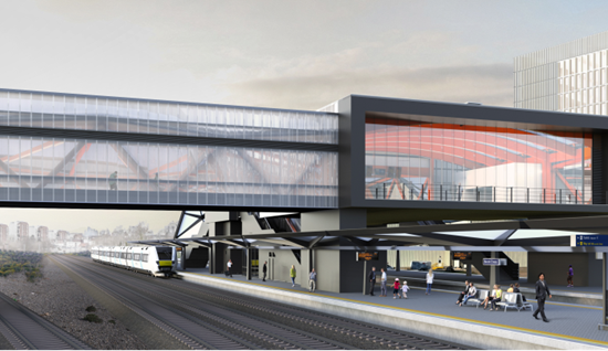 Consent secured for the new Brent Cross West Thameslink rail station
